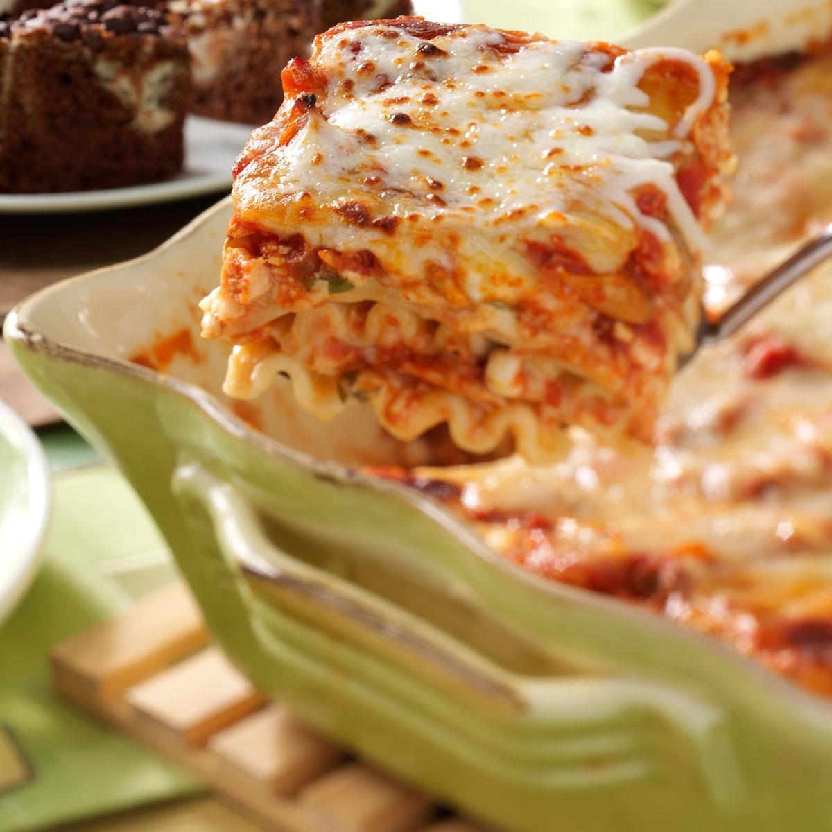 Chicken Lasagna Recipe  Herbed Chicken Lasagna Recipe
