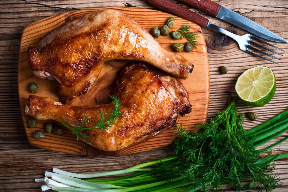 Chicken Legs On Grill  Grilled Chicken Leg Quarters Recipe