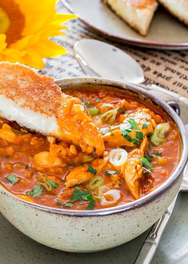 Chicken Lentil Soup  Red Lentil and Chicken Soup Jo Cooks