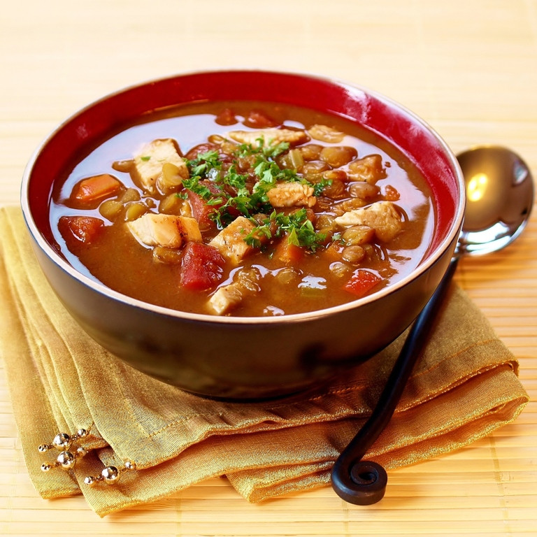 Chicken Lentil Soup  A Winter Weekend in the Cascade Mountains and Chicken
