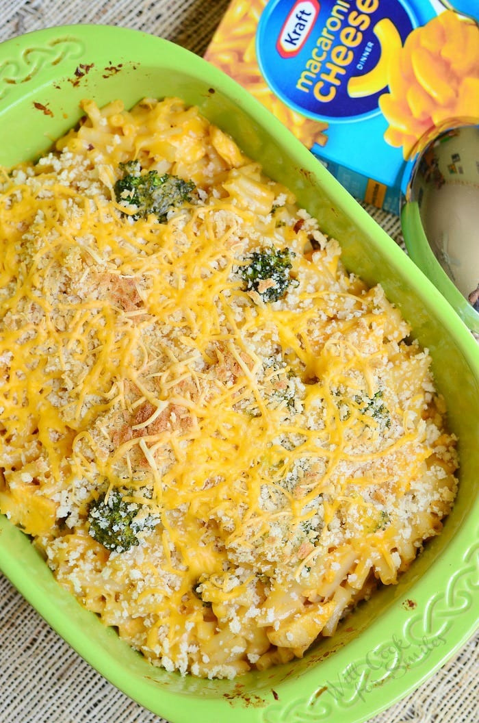 Chicken Mac And Cheese Casserole  Chicken Ranch Macaroni and Cheese Casserole Will Cook