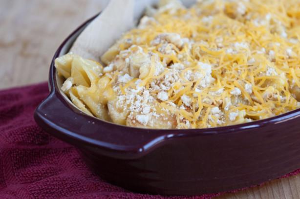 Chicken Mac And Cheese Casserole  Chicken Macaroni Casserole Recipe Food