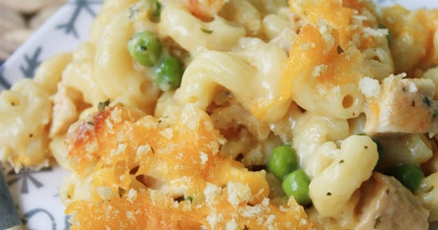 Chicken Mac And Cheese Casserole  Chicken Mac & Cheese Casserole