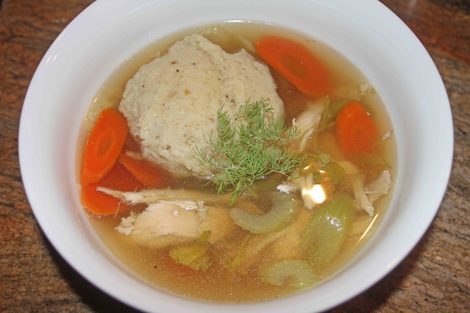 Chicken Matzo Ball Soup  The Grub Files Cooking with Camissonia Matzo Ball Soup