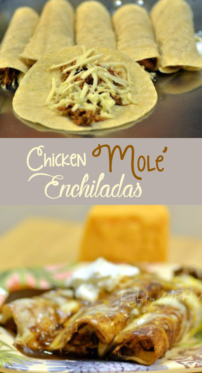 Chicken Mole Enchiladas  Chicken Mole Enchilada Recipe