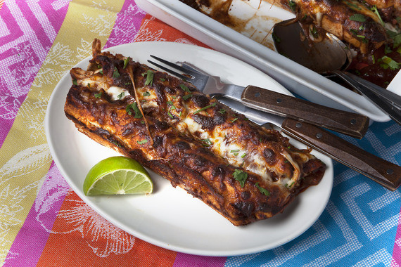 Chicken Mole Enchiladas  Recipe Chicken Mole Enchiladas Blue Apron