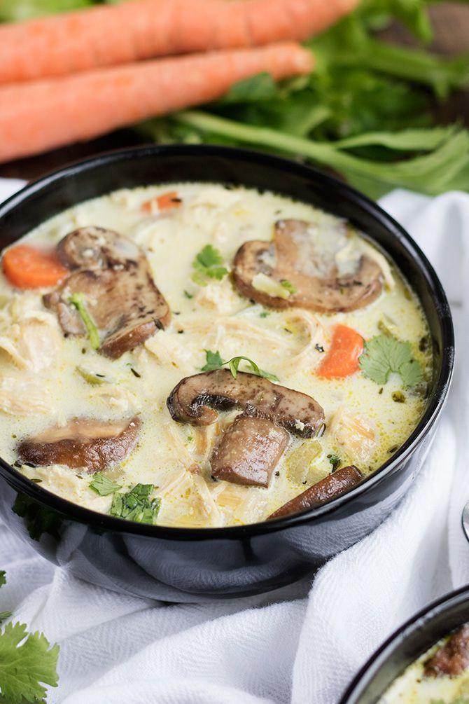 Chicken Mushroom Soup  Creamy Chicken Mushroom Soup Jennifer Meyering