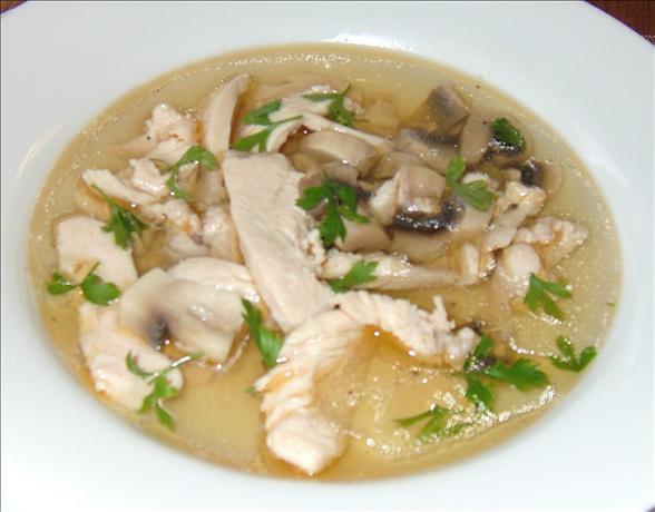 Chicken Mushroom Soup  Mushroom Soup