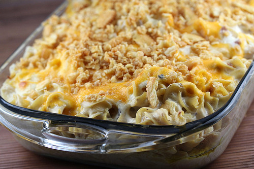 Chicken Noodle Casserole Recipes  Salmon and Noodle Casserole with homemade egg noodles