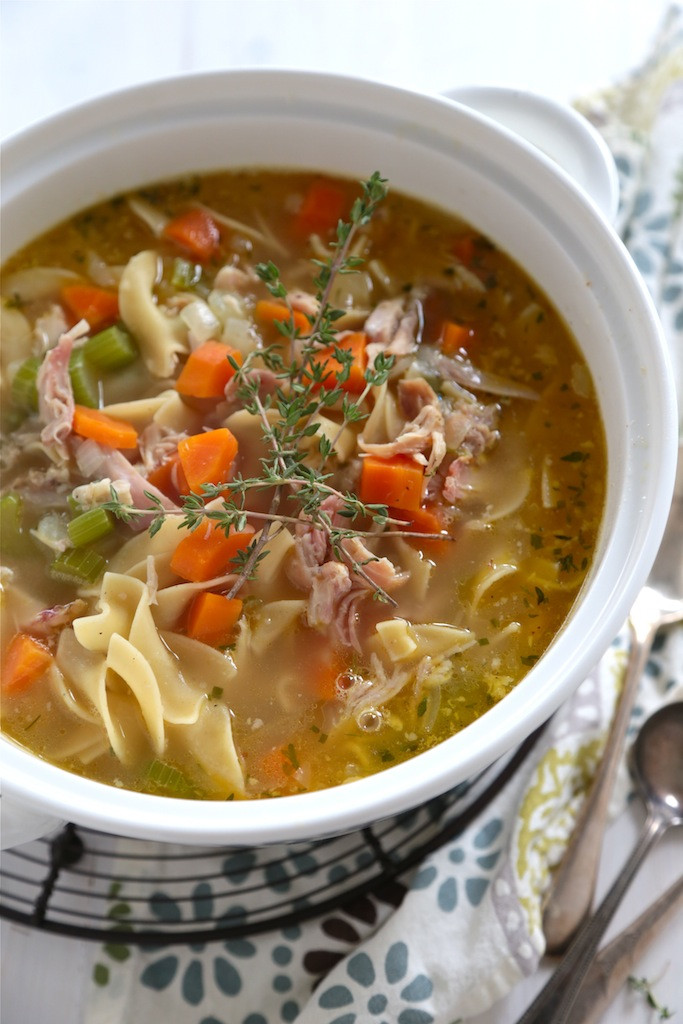 Chicken Noodle Soup Homemade  20 Minute Homemade Chicken Noodle Soup Country Cleaver
