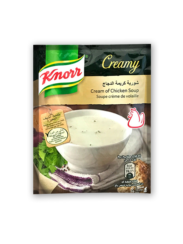 Chicken Noodle Soup Seasoning  Knorr Creamy Chicken Soup 12x60g Soup & Seasoning PRODUCTS