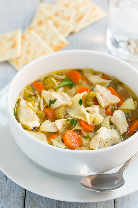 Chicken Noodle Soup Slow Cooker  Top 10 Slow Cooker Chicken Soup Recipes RecipePorn