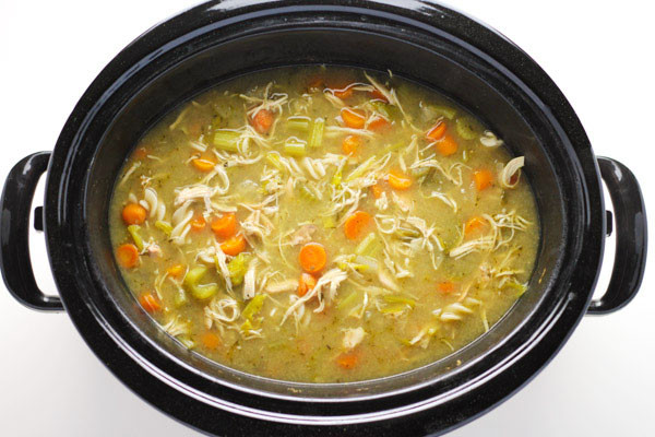 Chicken Noodle Soup Slow Cooker  Slow Cooker Chicken Noodle Soup Gluten Free
