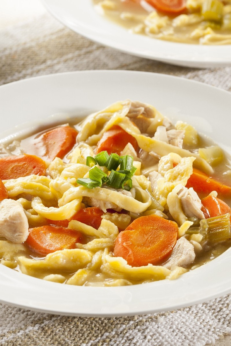 Chicken Noodle Soup Slow Cooker  Slow Cooker Chicken Noodle Soup