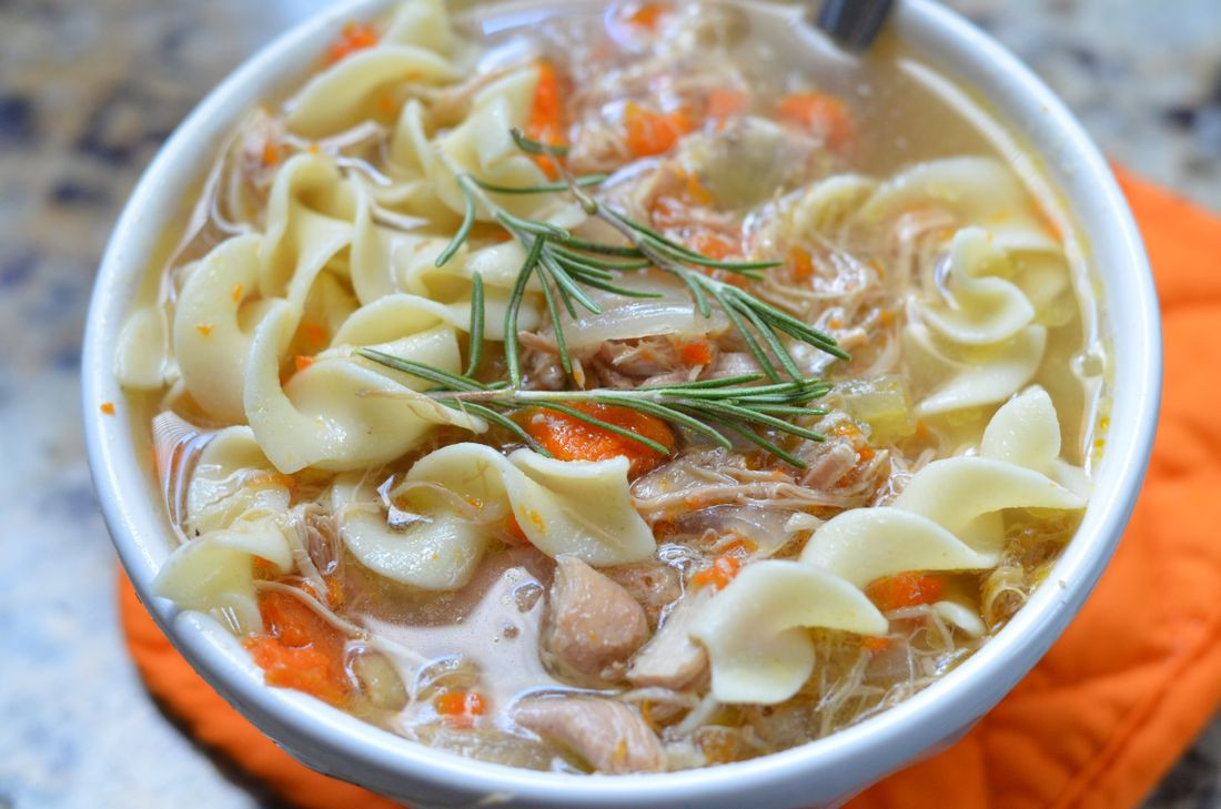 Chicken Noodle Soup Slow Cooker  Slow Cooker Chicken Noodle Soup Mooshu Jenne