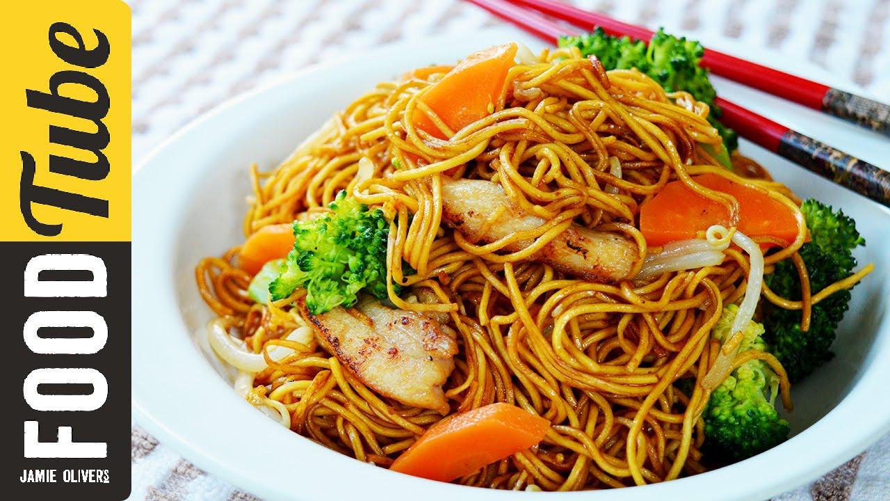 Chicken Noodles Recipe  Stir Fry Chicken Noodles