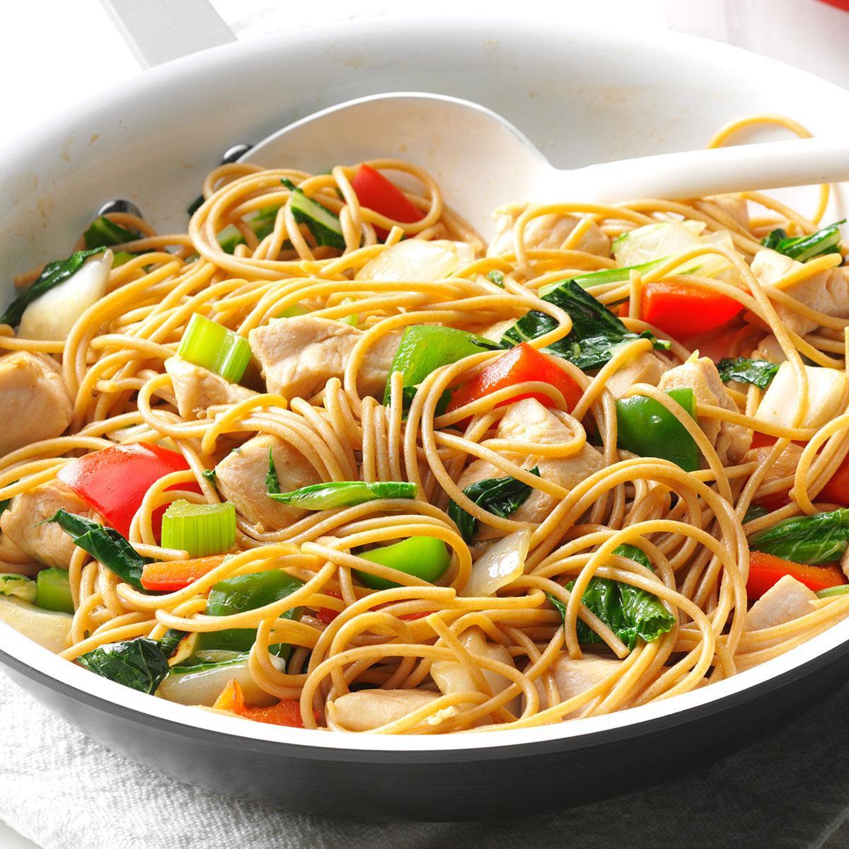 Chicken Noodles Recipe  Chicken Stir Fry with Noodles Recipe