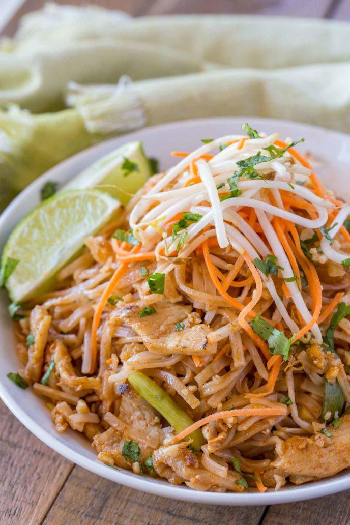 Chicken Pad Thai Calories  Chicken Pad Thai Dinner then Dessert