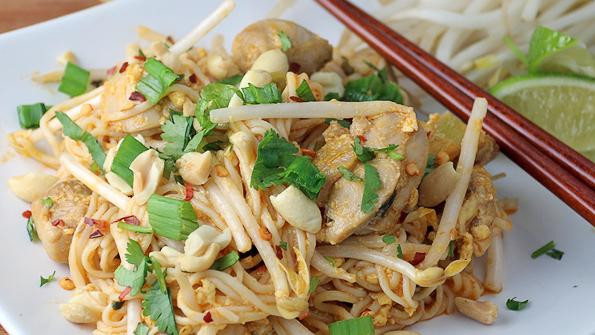 Chicken Pad Thai Calories  Keto Chicken Pad Thai Recipe & Nutrition