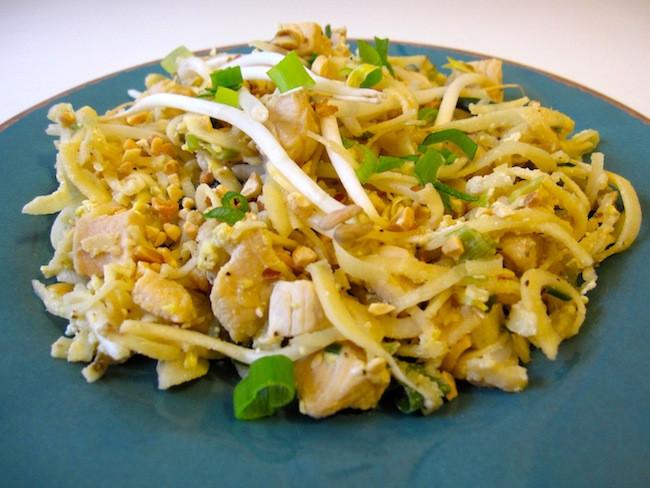 Chicken Pad Thai Calories  Organic Chicken Pad Thai Recipe Whole Lifestyle Nutrition