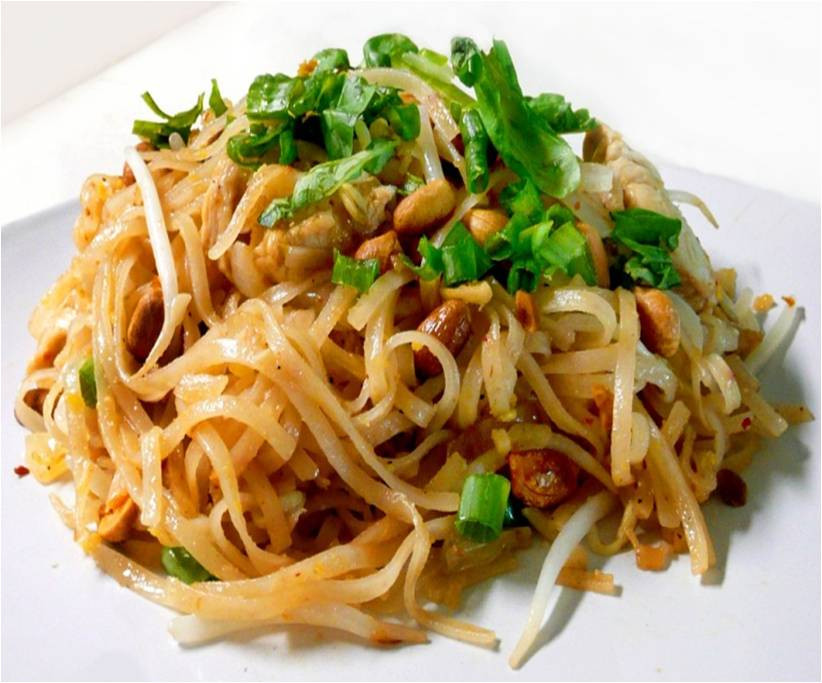 Chicken Pad Thai Calories  Chicken Pad Thai Miracle Noodle Recipe