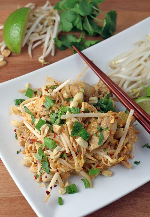 Chicken Pad Thai Calories  ChickenPadThaiLong