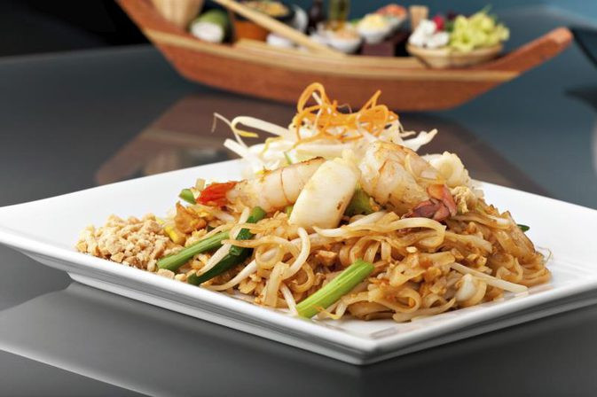 Chicken Pad Thai Calories  Nutrition Information for Pad Thai