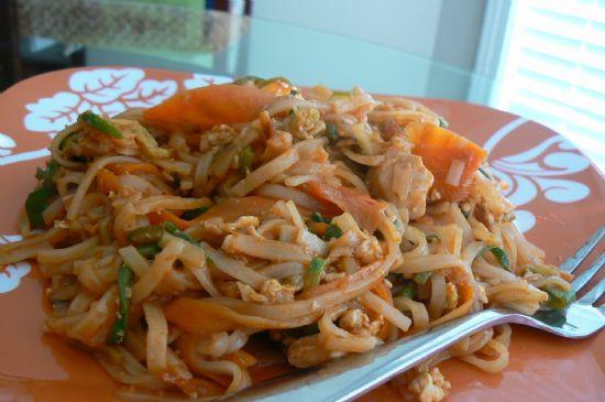 Chicken Pad Thai Calories  Chicken Pad Thai Recipe