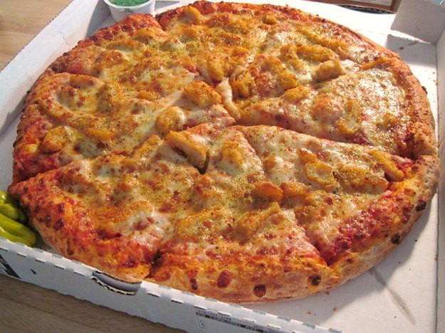 Chicken Parm Pizza  Chain Reaction Papa John s Chicken Parmesan Pizza