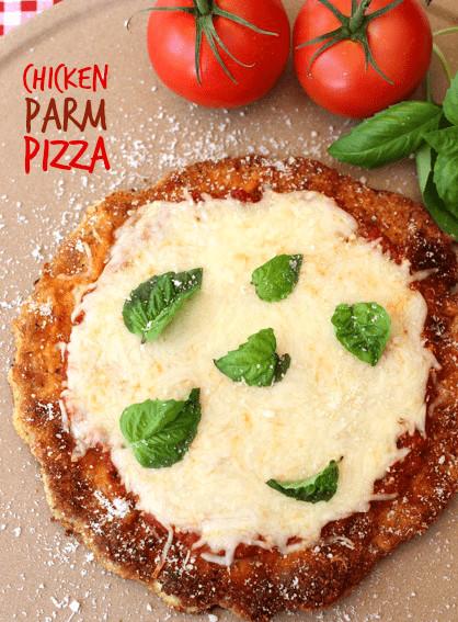 Chicken Parm Pizza  Chicken Parm Pizza Mantitlement