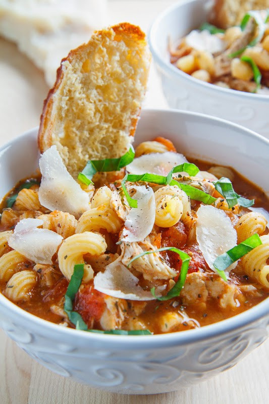 Chicken Parmesan Soup  Sweet And Salty 12 Amazing Recipes To Make This Weekend