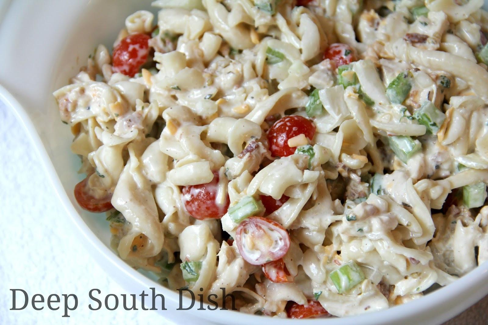 Chicken Pasta Salad  Deep South Dish Chicken Pasta Salad