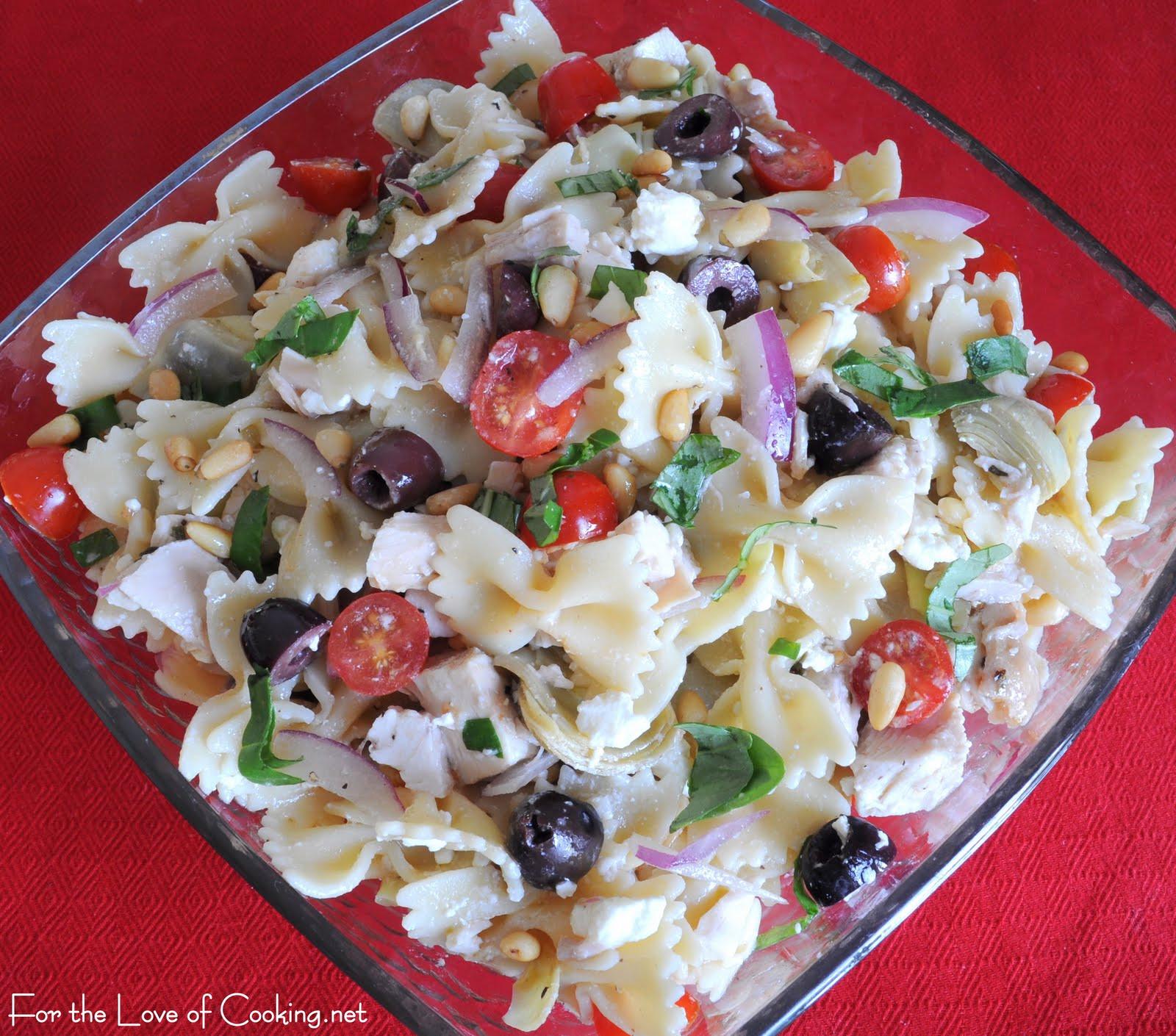 Chicken Pasta Salad  Mediterranean Chicken Pasta Salad