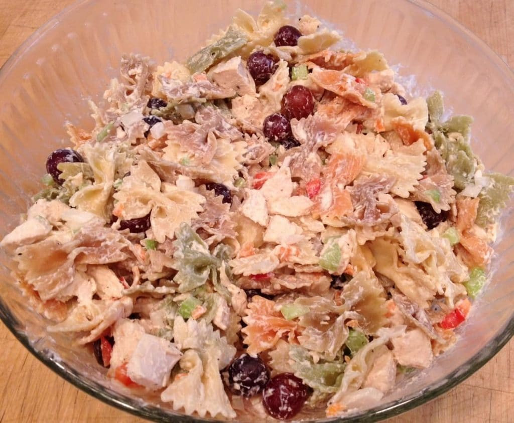 Chicken Pasta Salad  Delicious Chicken Pasta Salad
