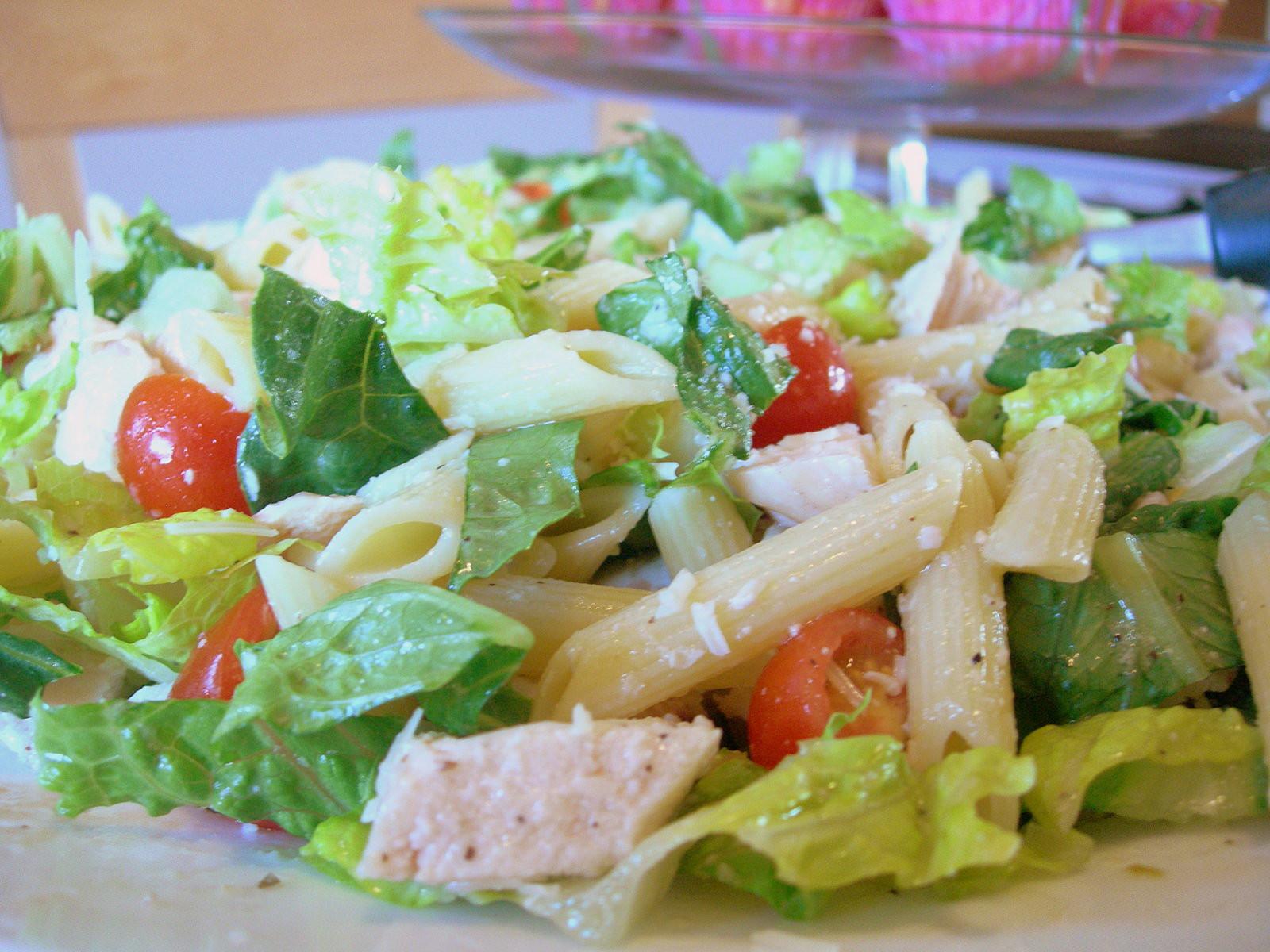 Chicken Pasta Salad  Iron Chef Moms Challenge Day Three Caesar Chicken Pasta