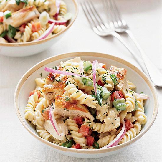 Chicken Pasta Salad  Grilled Chicken Pasta Salad