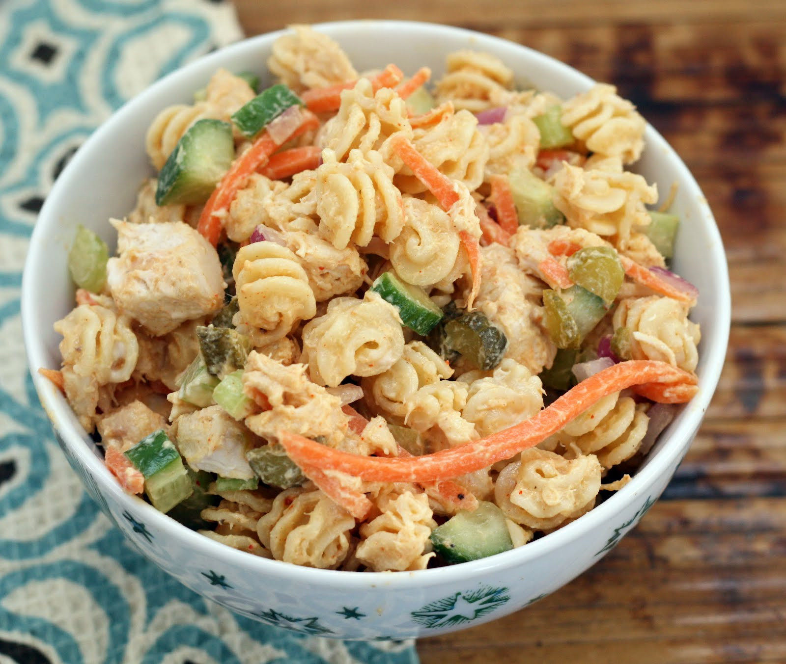Chicken Pasta Salad With Mayo  Chicken Pasta Salad With Mayo