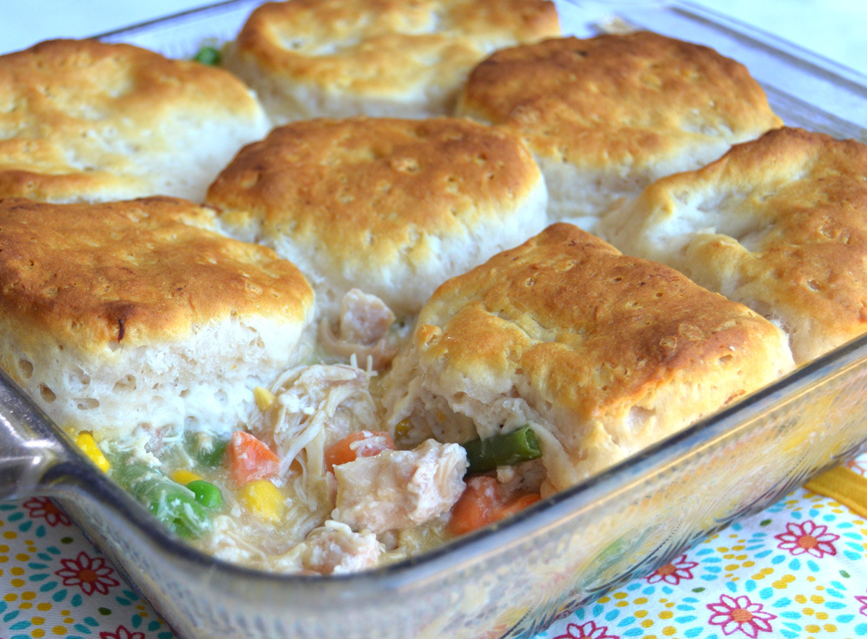 Chicken Pie Recipes  Easy Chicken Pot Pie recipe from Keystone Meats