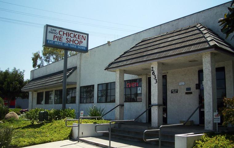 Chicken Pie Shop  SD Chicken Pie Shop San Diego CA