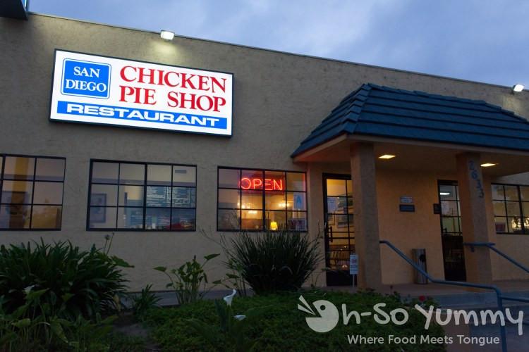 Chicken Pie Shop  Bite San Diego The Boulevard