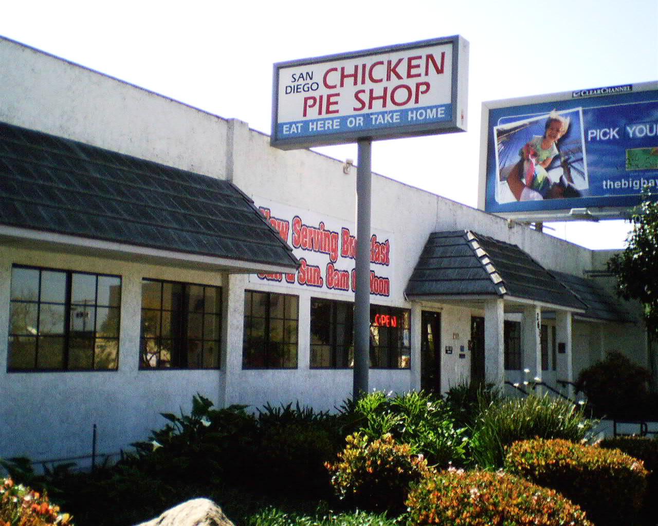 Chicken Pie Shop  The e and ly Chicken Pie Shop