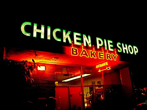 Chicken Pie Shop  wacky tacky Chow Time The La Palma Chicken Pie Shop