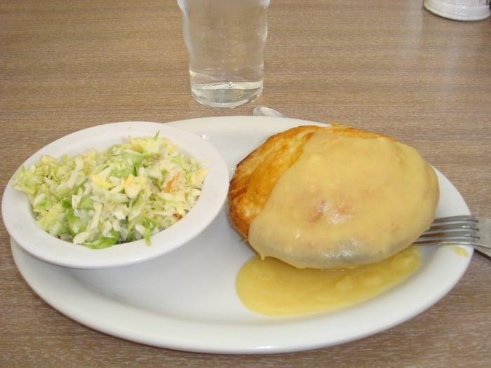 Chicken Pie Shop  Chicken Pie Dinner w Cole Slaw Yelp