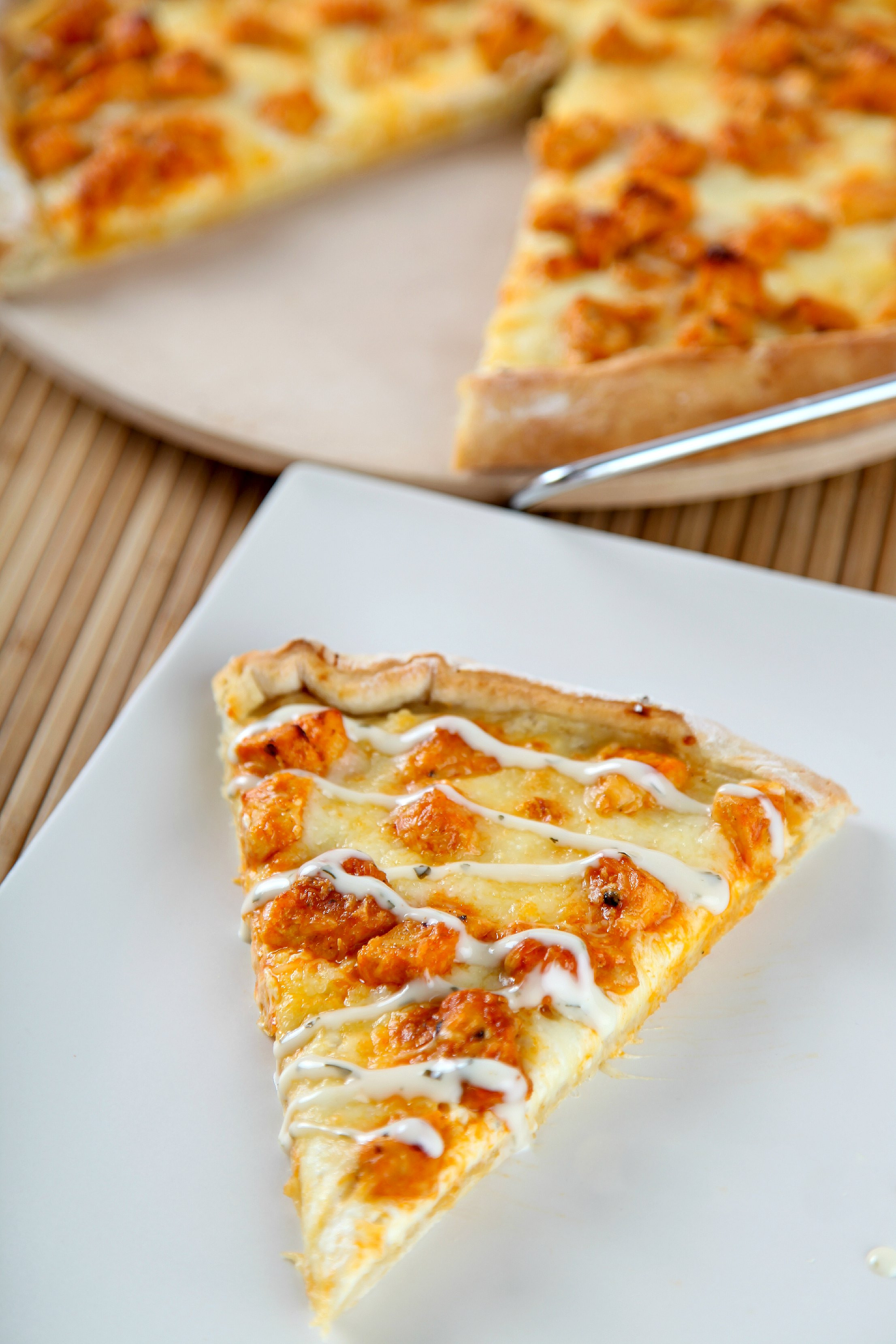 Chicken Pizza Recipe  Buffalo Chicken Pizza Recipe