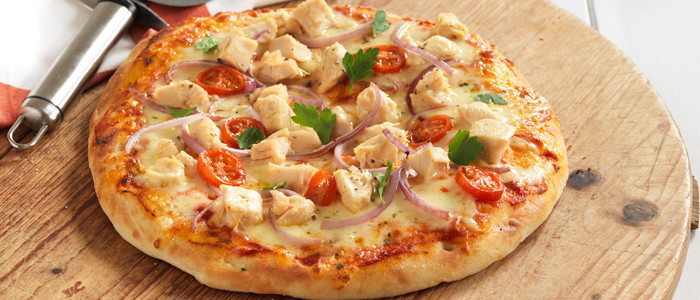 Chicken Pizza Recipe  Easy Chicken Pizza
