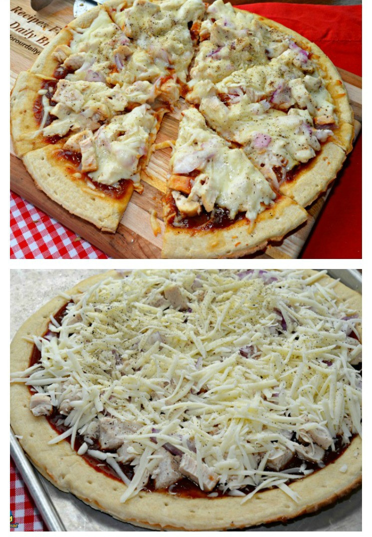 Chicken Pizza Recipe  BBQ Chicken Pizza Recipe Delicious & Easy To Prepare