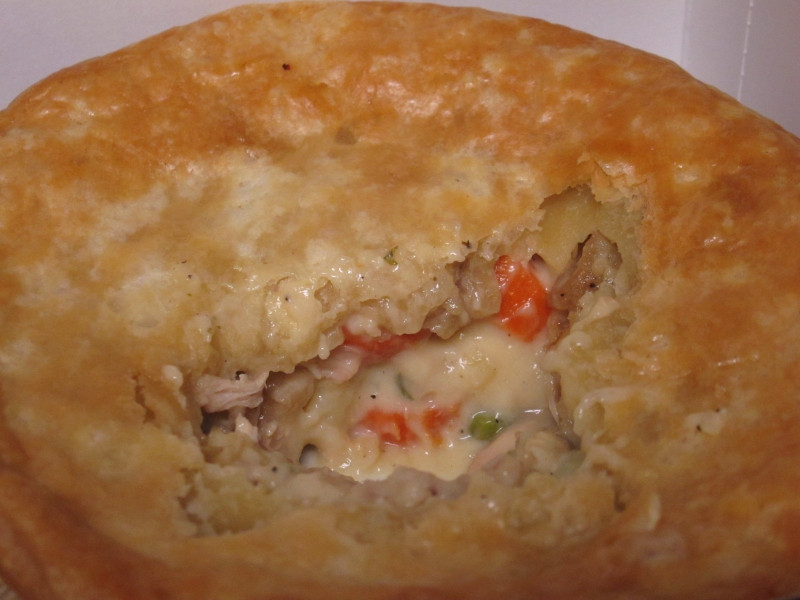 Chicken Pot Pie Calories  Review KFC Chunky Chicken Pot Pie