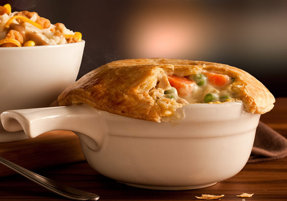 Chicken Pot Pie Calories  The highest calorie item at 10 fast food chains MarketWatch