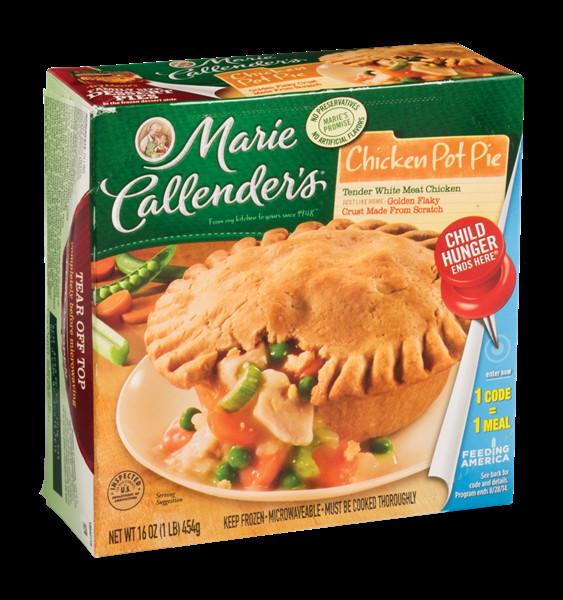 Chicken Pot Pie Calories  Marie Callender s Chicken Pot Pie