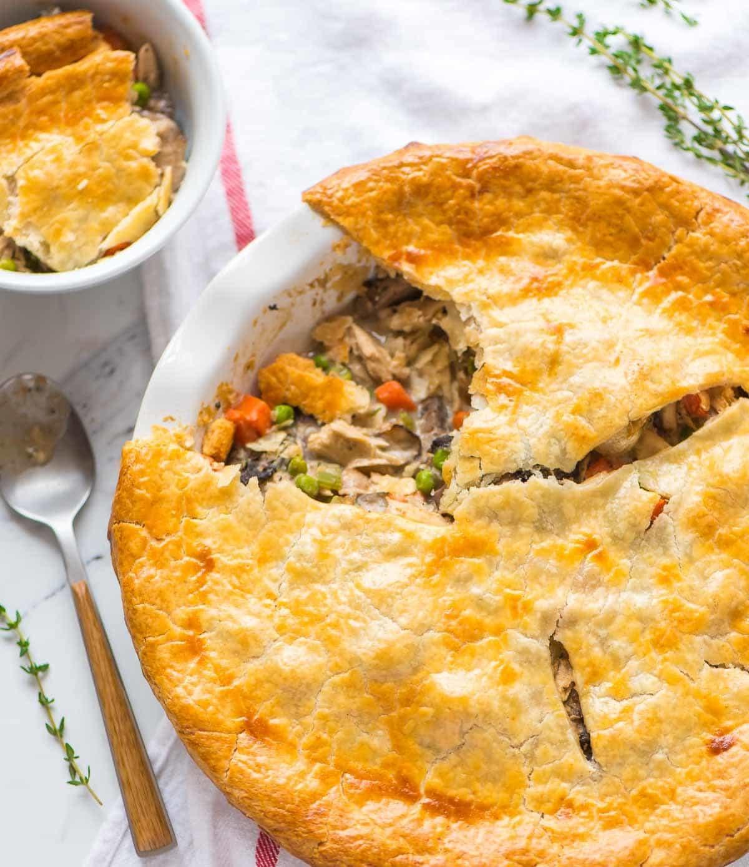 Chicken Pot Pie Calories  Healthy Chicken Pot Pie